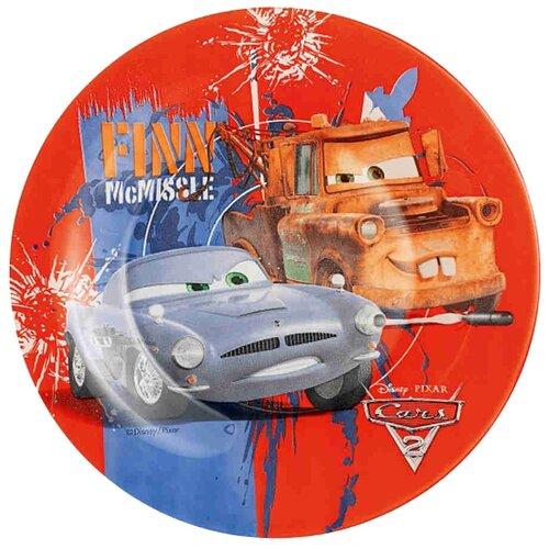 Luminarc Тарелка десертная Disney Cars 2 19 см красный