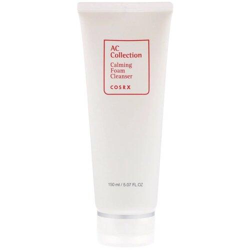 Фото - COSRX Пенка для умывания успокаивающая AC Collection Calming Foam Cleanser, 150 мл гель пенка для умывания cosrx low ph good morning gel cleanser 50 мл