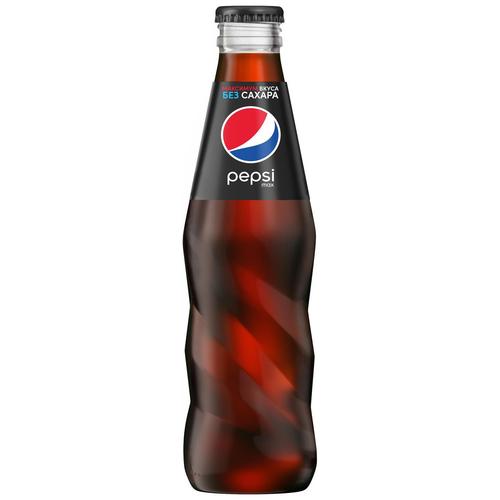 Фото - Газированный напиток Pepsi Max, 0.25 л pepsi напиток низкокалорийный вкус манго 0 5 л pepsi