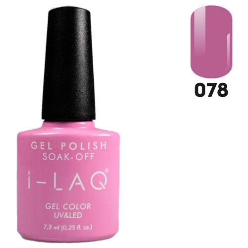 Фото - Гель-лак для ногтей I-LAQ Gel Color, 7.3 мл, 078 i laq гель лак 020