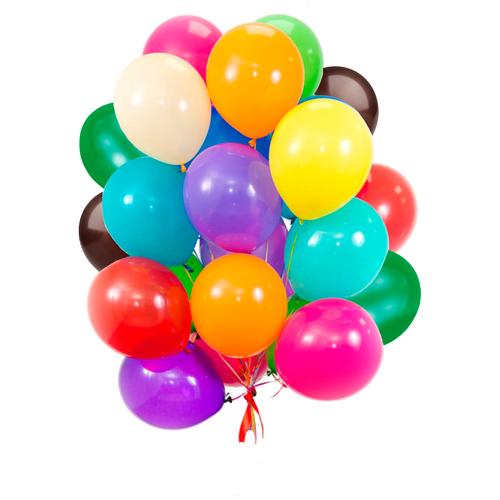 Воздушные шары Ассорти пастель UP&UP 30 см./ 100 шт.
