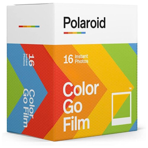 Фото - Картридж Polaroid Go Color Film Double Pack, 2 х 8 снимков картридж polaroid duochrome film 600 black