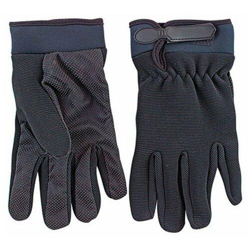 Перчатки СЛЕДОПЫТ туристические летние черный XL