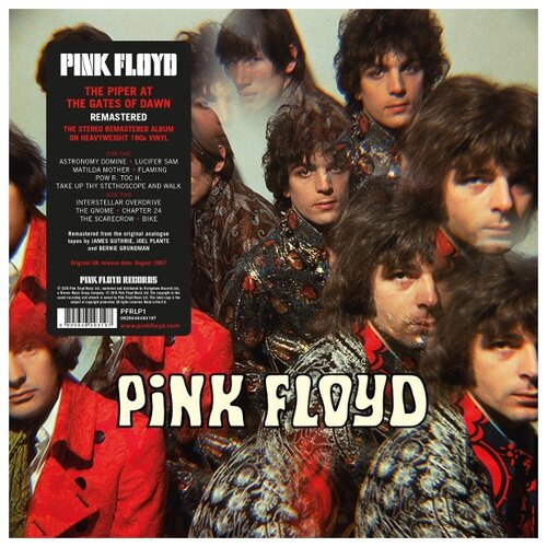 Warner Bros. Pink Floyd. The Piper At The Gates Of Dawn (виниловая пластинка) виниловая пластинка pink floyd a foot in the door the best of pink floyd 0190295624019