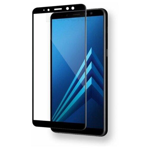 3D/5D защитное стекло MyPads для Samsung Galaxy A7 (2018) SM-A750FN/ DS с закругленными изогнутыми краями которое полностью закрывает экран / дисплей по краям с олеофобным покрытием