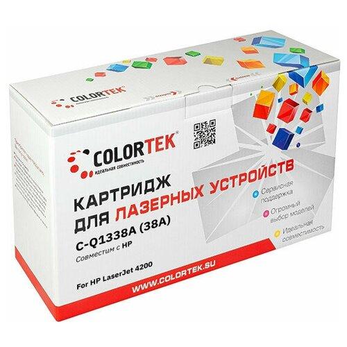 Фото - Картридж лазерный Colortek CT-Q1338A (38A) для принтеров HP картридж лазерный colortek ct ar016t для принтеров sharp
