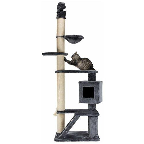 Домик-когтеточка Tizian, 220 х 240 см, серый, Trixie (товары для животных, 44666)