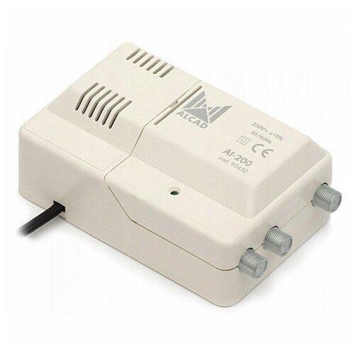 Усилитель антенный цифровой 1 вход/2 выхода ALCAD AI-200 Alcad Усилитель антенный цифровой 1 вход/2 выхода ALCAD AI-200