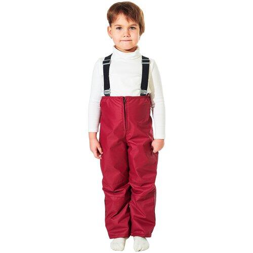 Купить Детские брюки демисезонные 6232 размер 110 серо-голубой, Филиппок, Полукомбинезоны и брюки