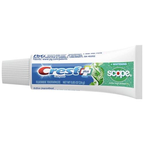 Crest Complete Plus Scope Minty Fresh – Зубная мини-паста 24 грамма
