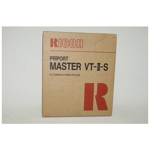 Фото - Мастер-пленка Ricoh Master Tape VT-II-S (893950) 18 30mm 5m kawaii rainbow life washi tape diy decoration tape scrapbooking planner masking tape adhesive tape label stationery