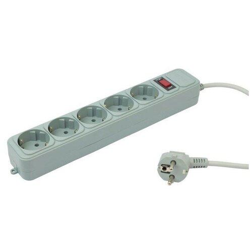 Сетевой фильтр PC Pet(AP01006-3-GR) Gray