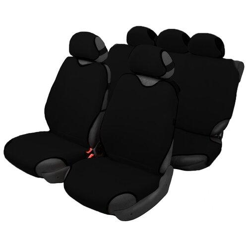 Чехлы-майки для автомобильных сидений AceStyle (черный)