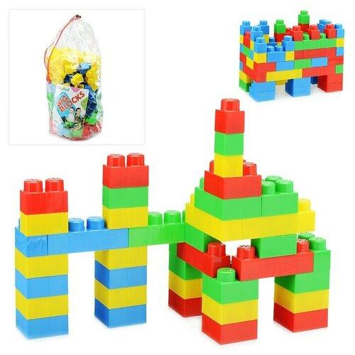 Купить Конструктор Big Blocks, пакет, 120 дет., Okikid, Конструкторы