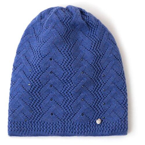 шапка женская finn flare цвет ярко синий a20 11148 111 размер 56 Шапка женская Finn Flare, цвет: ярко-синий A20-11148_111, размер: 56