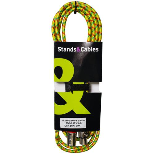 Кабель XLR - XLR Stands&Cables MC-087XX-3 3.0m