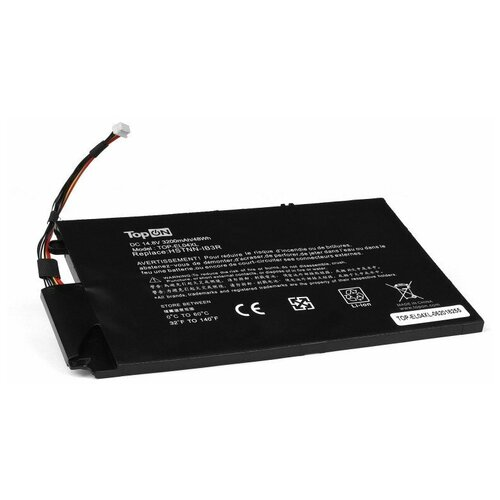 Аккумулятор для ноутбука HP TouchSmart 4, Envy 1000, 4-1000 Series. 14.8V 3200mAh 48Wh. PN: HSTNN-UB3R, EL04XL, TPN-C102, 681879-121.
