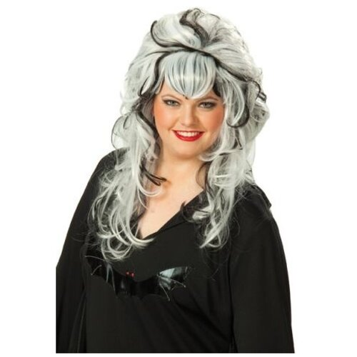 Купить Черно-белый парик с начесом (10013), RUBIE'S