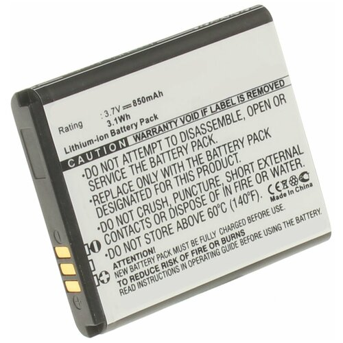 Аккумулятор iBatt iB-B1-M277 850mAh для Samsung AB483640BU, AB483640BE, AB483640DU, BST3108BC, AB483640BEC,