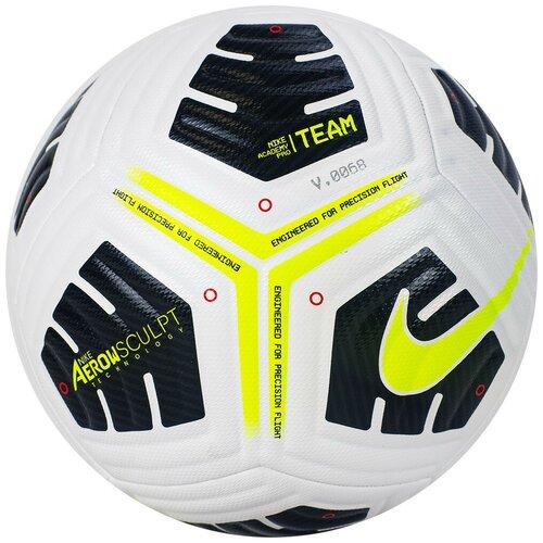 Мяч футбольный NIKE Academy Pro Ball, р.5, FIFA Quality, арт.CU8038-100 nike бутсы для мальчиков nike jr vapor 13 academy fg mg размер 34