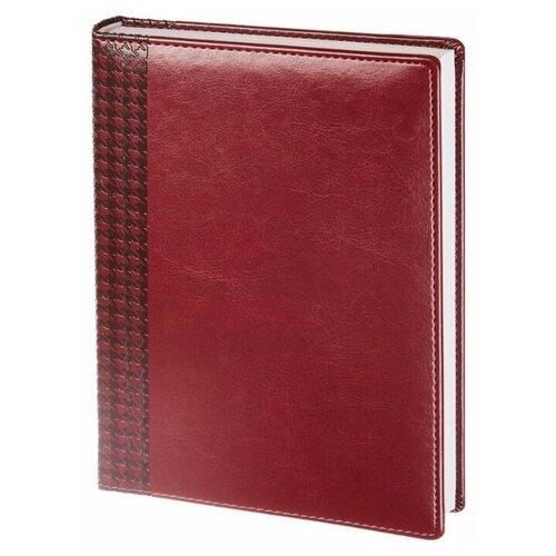 Купить Ежедневник InFolio Lozanna недатированный, искусственная кожа, А5, 160 листов, бордовый, Ежедневники, записные книжки