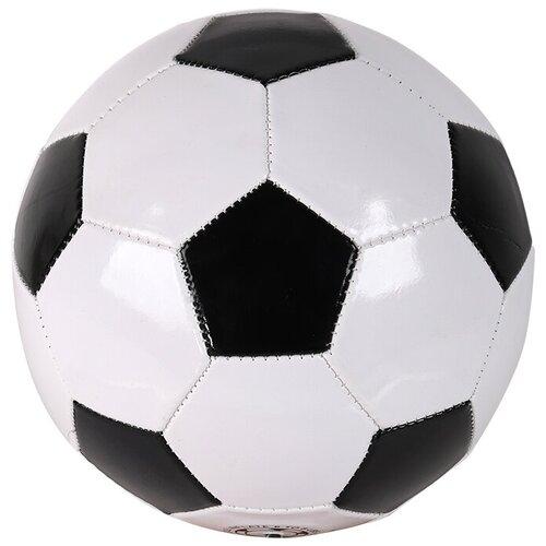 Футбольный мяч Джамбо Тойз JB0206111 черный/белый 5