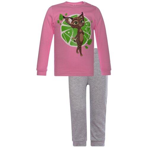 Фото - Комплект одежды Утенок размер 80, розовый/меланж Редьяра комплект одежды утенок размер 98 белый черный