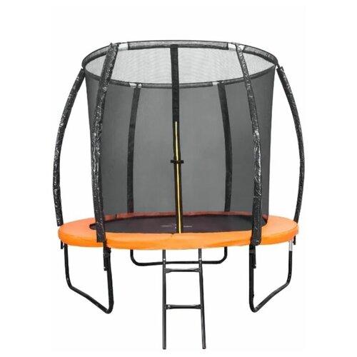 Фото - Каркасный батут DFC Trampoline Kengoo II 8FT-BAS-BO 244х244х205 см оранжевый/черный каркасный батут dfc trampoline kengoo ii 16ft bas bo оранжевый