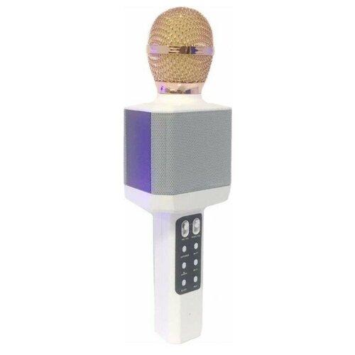 Беспроводной караоке-микрофон WS-1828 (белый)