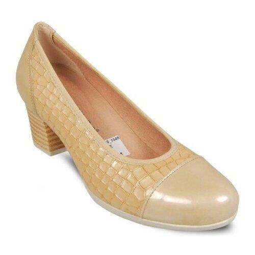 Туфли Pitillos , размер 41 , бежевый