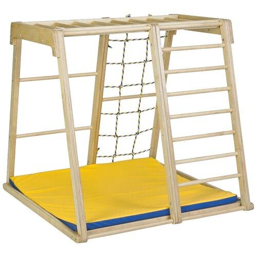 Купить Спортивно-игровой комплекс Kidwood Парус, светло-бежевый, Игровые и спортивные комплексы и горки