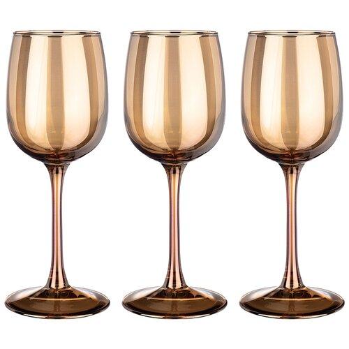 Набор бокалов из 3 шт гречишный мед 300 мл Lefard (194-514)