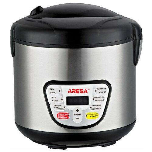Мультиварка ARESA AR-2002, черный/серебристый