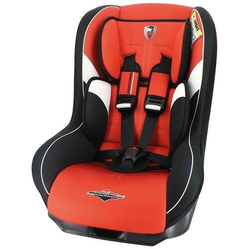 Автокресло группа 0/1 (до 18 кг) Nania Driver Racing, red автокресло группа 0 1 2 до 25 кг nania revo luxe isofix red