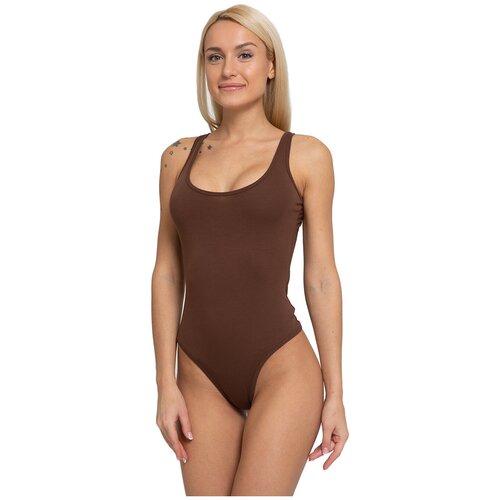 Боди Lunarable, размер 52, коричневый