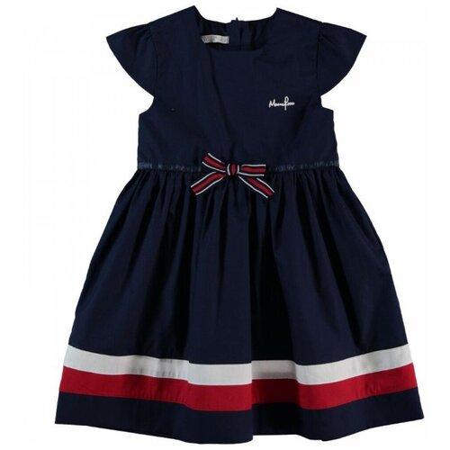 платье для девочки acoola pomelo цвет голубой 20220200368 400 размер 104 Платье для девочки Monna Rosa синее, размер 104-110
