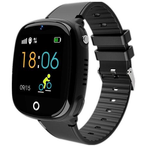 Детские умные часы Smart Baby Watch HW11, черный детские умные часы smart baby watch t58 черный