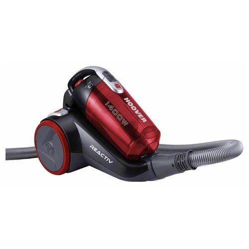 Пылесос Hoover RC1410 019, красный/серебристый
