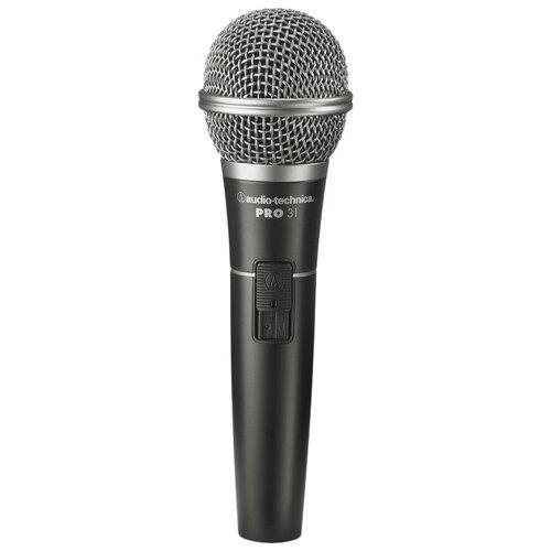 Микрофон Audio-Technica PRO31QTR, черный