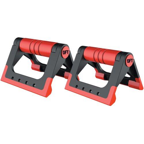 Упоры дуговые Original FitTools FT-PUB черный/красный перчатки original fittools ft glv01 черный белый m