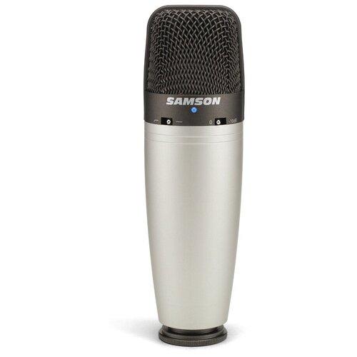 Микрофон Samson C03, серебристый