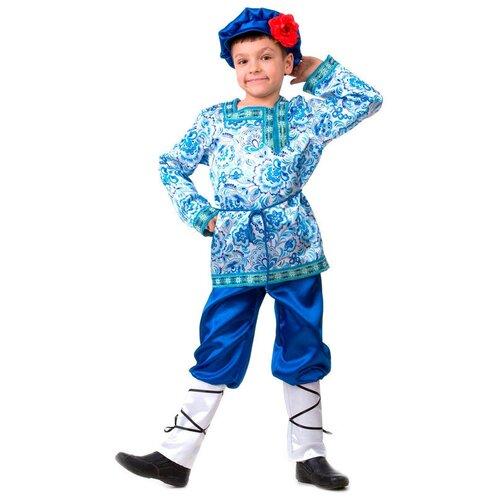 Купить Костюм Батик Вася-Василёк (5213), белый/голубой, размер 116, Карнавальные костюмы