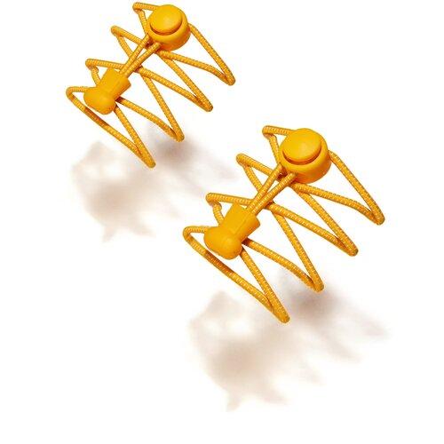 Фото - Эластичные шнурки Спортивный клуб Красная Жара (ярко-желтый; белый) 100 см парик интуиция красная жара ярко оранжевый