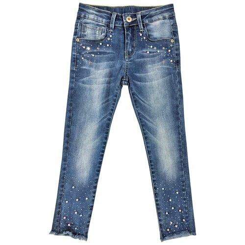 Джинсы Sweet Berry размер 116, синий джинсы fendi размер 116 синий