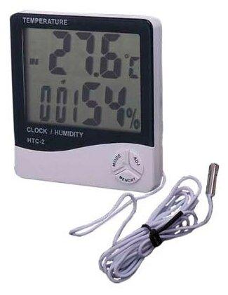 Термометр-гигрометр-часы Орбита OT-HOM12 — купить по выгодной цене на Яндекс.Маркете