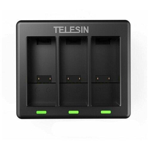 Фото - Telesin Зарядное устройство для GoPro HERO 9 Black зарядное устройство lumiix gp402 9 for gopro hero 9