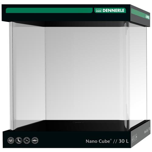 Аквариумный набор 30 л (крышка, подставка) Dennerle NanoCube 30 прозрачный аквариум dennerle nanocube 20 литров 1 шт