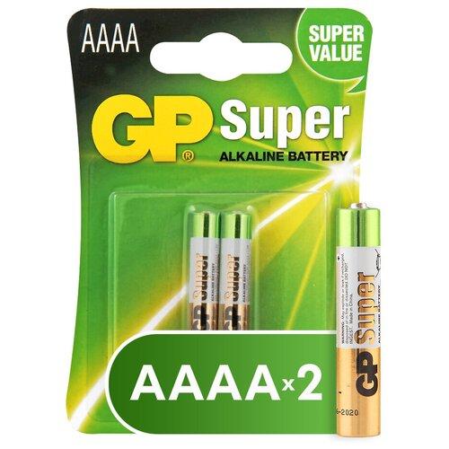 Фото - Батарейка GP Super Alkaline АААA, 2 шт. gp