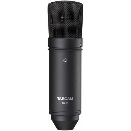 Микрофон Tascam TM-80, черный