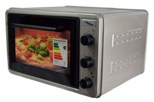 Духовой шкаф Чудо Пекарь ЭДБ 023 33л, терморегулятор, таймер, серебристый металлик — купить по выгодной цене на Яндекс.Маркете